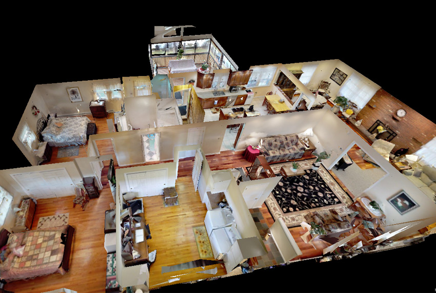 Sell Smarter. 3-D Home Viewing