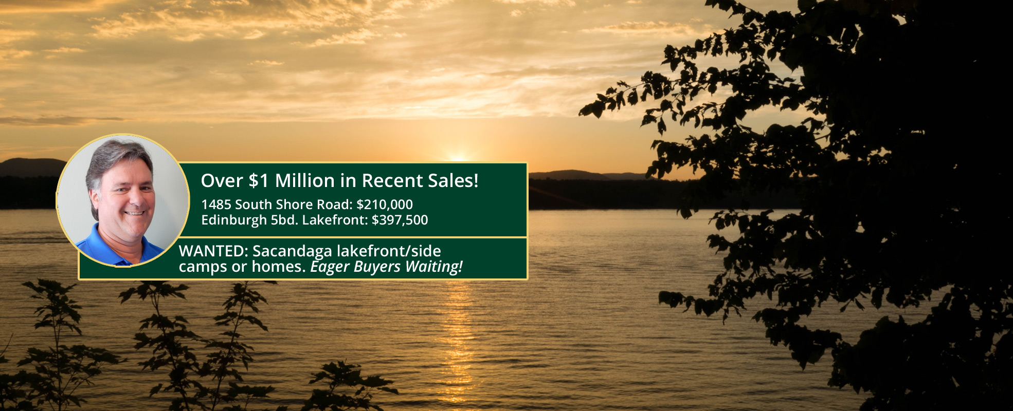 Buy or Sell your property with the Sacandaga Lake Specialists!